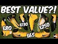Which is Best Value For Money? Every Nike Football Boot Covered