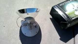 Stirling Engine, Toy Kit Thames & Kosmos Solar Powered, Sun Powered