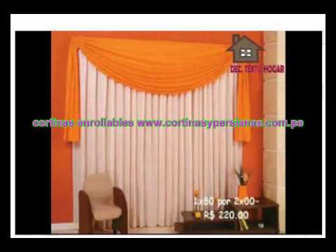 confeccion de cortinas lima peru youtube