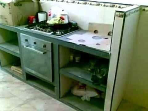 Cocina empotrada   youtube