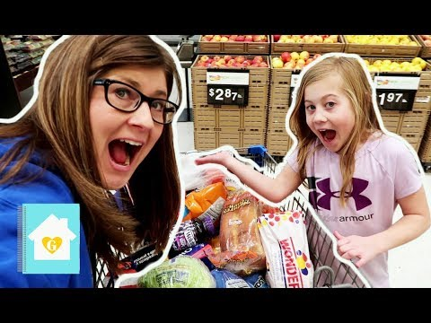 GROCERY SHOP WITH ME AND HAUL | WAL-MART SHOPPING