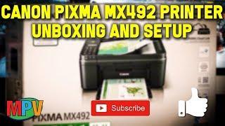 v2Movie : How to fix Error code 5100 on Canon pixma MX 492 ,DIY