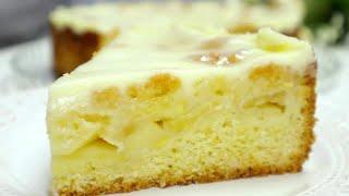 Не Пирог а Сказка Нежнейший Яблочный Пирог Торт Все дело в Заливке