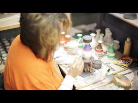 Cedar Mesa Pottery Factory Tour