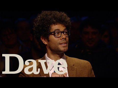 Richard Ayoade Being Awkward Got Him The IT Crowd Role  Alan Davies: As Yet Untitled  Dave