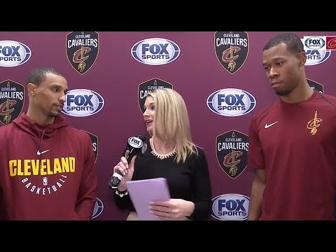 Rodney Hood & George Hill Talk Joining The Cavaliers