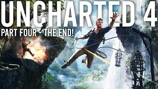 Uncharted 4 Walkthrough - Part 4 ( The End )