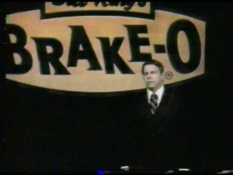 Brake Repair Shops >> 'Bill King's Brake-O' [01] - TV commercial (1981) - YouTube