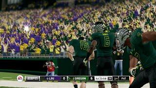 NCAA Football 14, Tuesday Team Up (Oregon vs LSU)