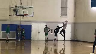 Kyrie Irving, Jayson Tatum, Jaylen Brown play 1-on-1 after Celtics practice