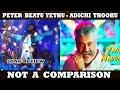 Peter Beatu Yethu Song Review | Adichi Thooku song | Dreamworld-tamil