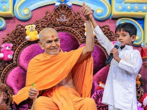Guruhari Darshan 1-3 Jul 2018, Sarangpur, India