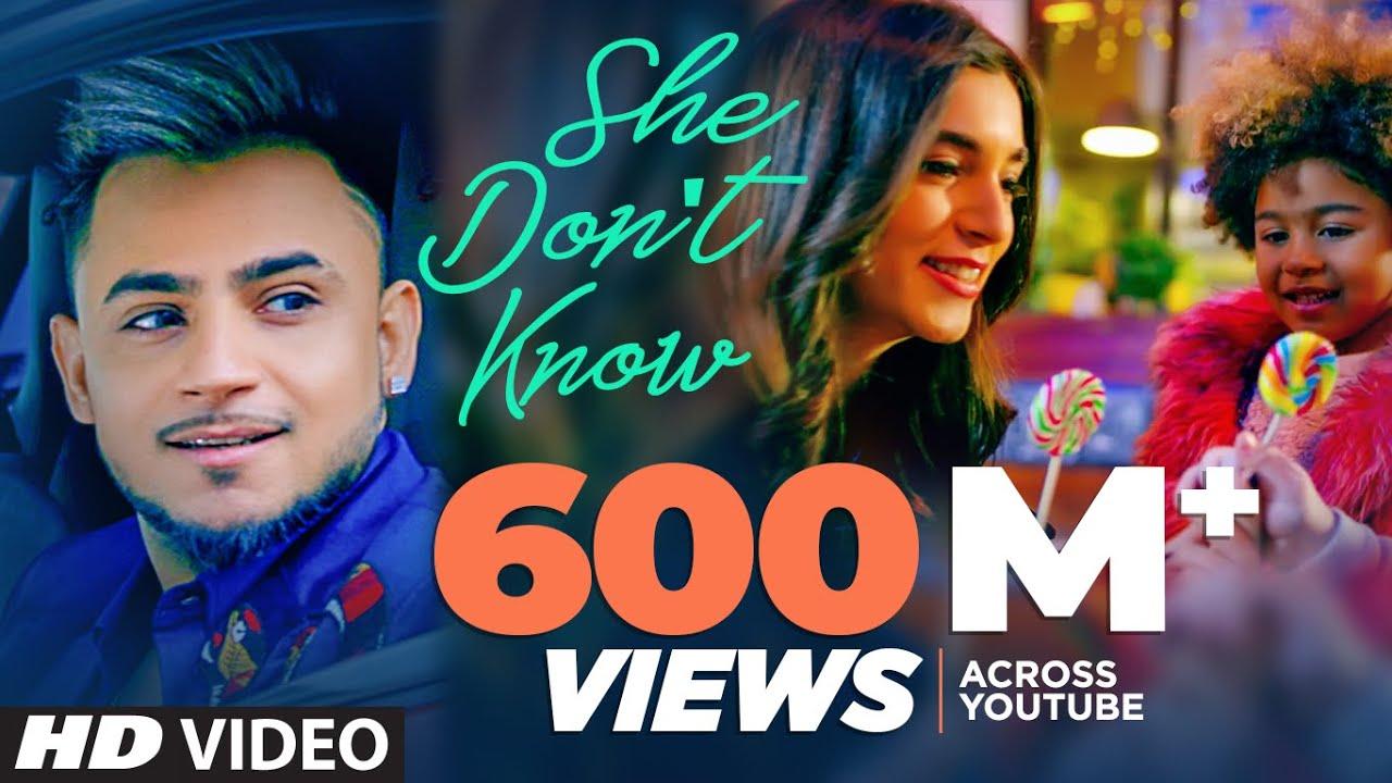 She Don't Know: Millind Gaba Song  Shabby  New Hindi Song 2019  Latest Hindi Songs