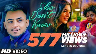 Gambar cover She Don't Know: Millind Gaba Song | Shabby | New Hindi Song 2019 | Latest Hindi Songs