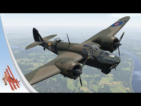 War Thunder Gameplay - Blenheim Ace!
