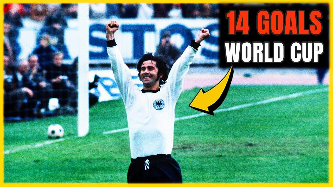 Los 14 GOLES de GERD MÜLLER en la Copa del Mundo