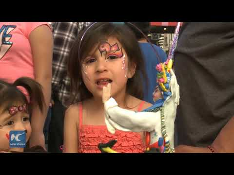 Farmers Market in Los Angeles celebrates Chinese Lunar New Year