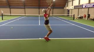 College tennis recruiting video of Sjoerd available Spring 2019