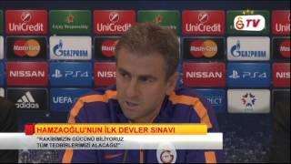 FUTBOL | Şampiyonlar Ligi Maç Öncesi Basın Toplantısı: Hamza Hamzaoğlu & Umut Bulut