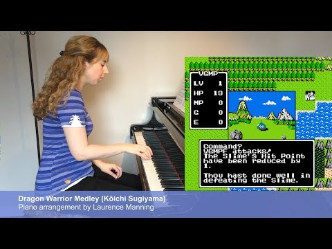 Dragon Warrior / Dragon Quest Piano Medley ドラゴンクエストカバー