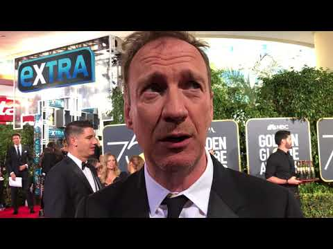 David Thewlis 'Fargo' Golden Globes 2018 red carpet exclusive