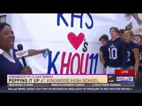 KHOU Live with Kingwood High School - Friday Pep Rally