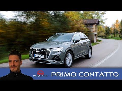 Nuova Audi Q3 35 TDI 150 CV - prova su strada del MY 2019