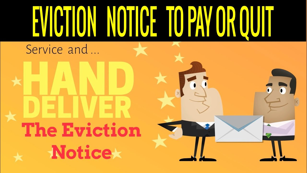 texas eviction notice