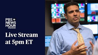 PBS NewsHour Weekend Live Show October 3 2021