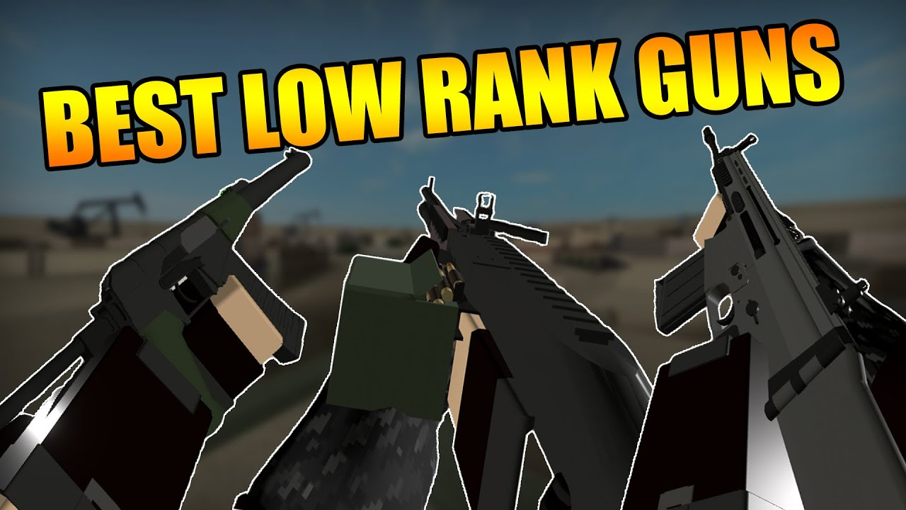 The BEST LOW RANK GUNS in Phantom Forces - YouTube