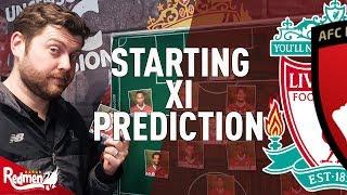 Liverpool v Bournemouth | Starting XI Prediction LIVE