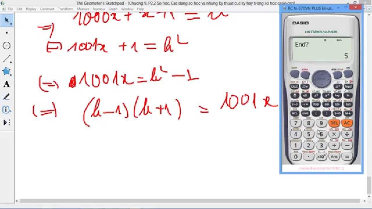 CHUYÊN ĐỀ CASIO Chương 9 Số học 8 Tìm tất cả các số có 6 chữ số thỏa số chính phương và số sau