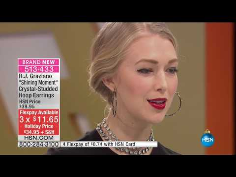 HSN | R.J. Graziano Fashion Jewelry Gifts 10.24.2016 - 01 PM