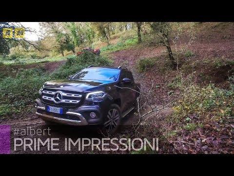 Mercedes Classe X 2018 | Scampagnata con il V6 diesel da 258 CV