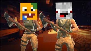 Fortnite In Minecraft Clip Songs - Skins fur minecraft alphastein