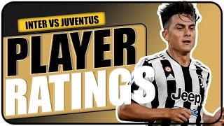 PLAYER RATINGS: INTER 1-1 JUVENTUS!