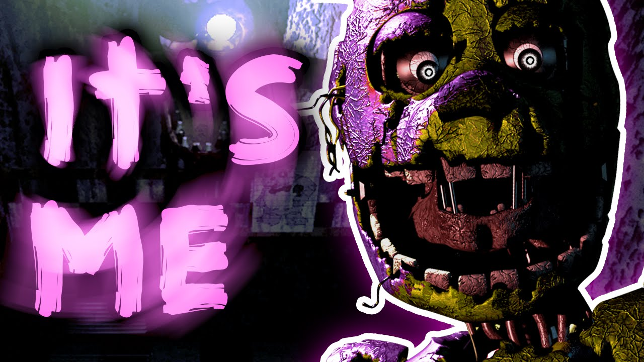 Safe Room Purple Guy Five Nights At Freddy S