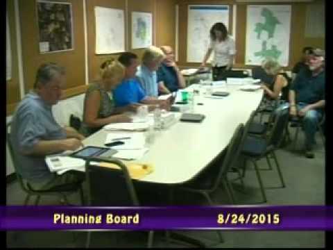 Planning Board 08/24/2015