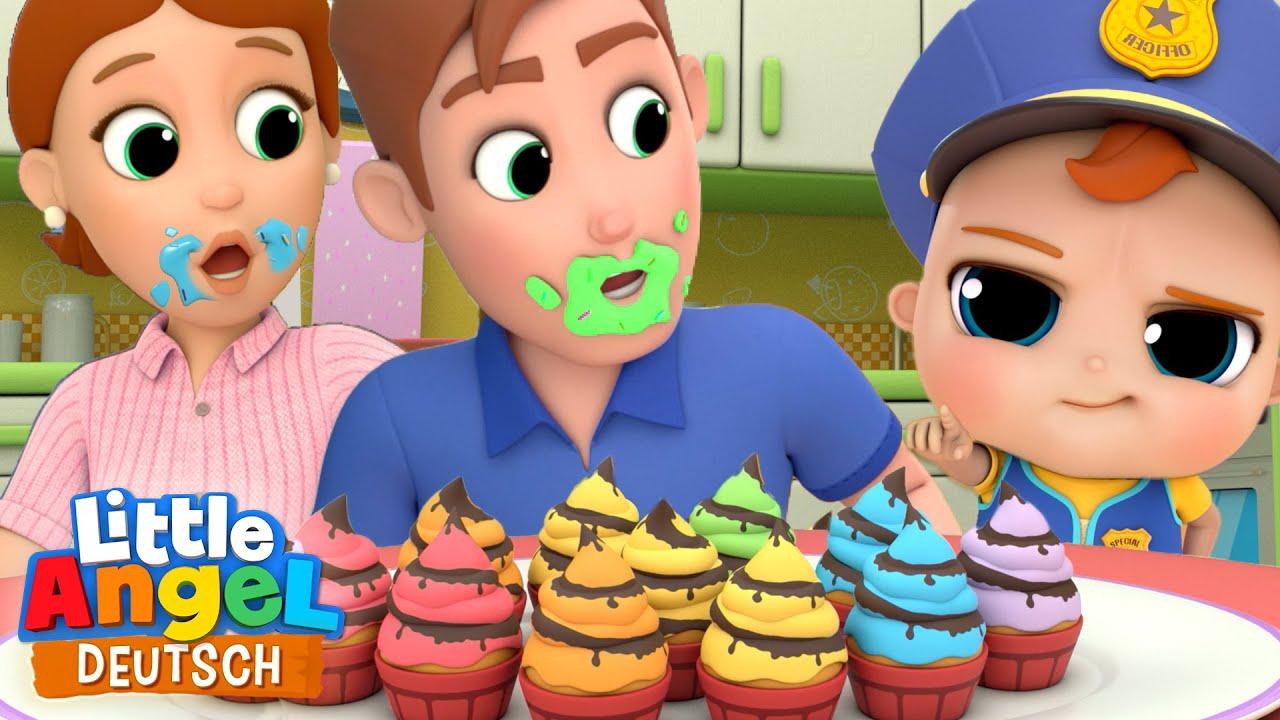 Download Die Muffin-Polizei   Johny johny yes papa   Little Angel Deutsch - Kinderlieder