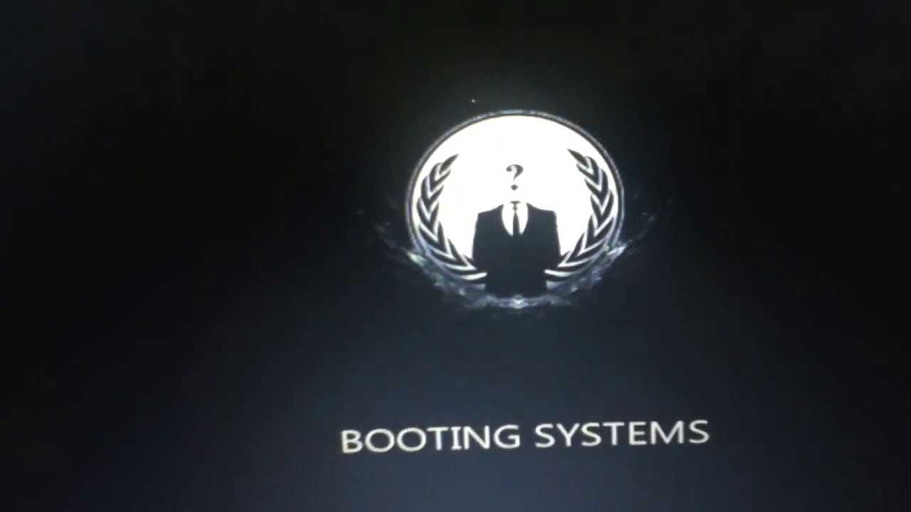 Rog Animated Wallpaper Anonymous Boot Animation Login Screen Better Quallity
