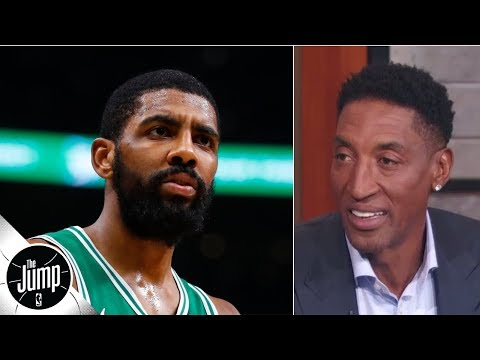 Kyrie Irving should join LeBron James and Anthony Davis on the Lakers - Scottie Pippen | The Jump