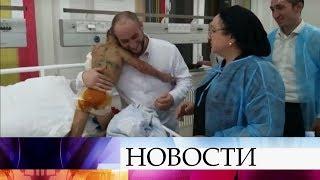 У избитой девочки из Ингушетии врачи обнаружили старые переломы ребер и травму позвоночника.