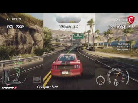 MSI Gaming desktop   Trident 3 GTX 1060 3G   4K 60 FPS   What's the real gaming!?