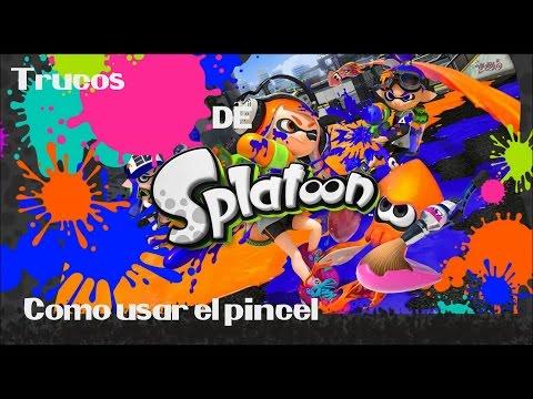 Trucos para usar el pincel en Splatoon