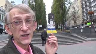 Why Communist Volodymir Lenin Was Destroyed In Kiev, Ukraine? Why? Goodbye, Grandpa Lenin!