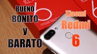 Xiaomi Redmi 6 UNBOXING y PRIMERAS IMPRESIONES en ESPAÑOL + SORTEO INTERNACIONAL 4 PREMIOS