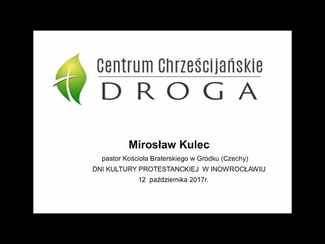 Uczniostwo -pastor Mirek Kulec