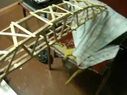 Tips On Building a Popsicle Stick Bridge to Hold Atleast a 100 Pounds!