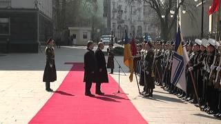 Как Порошенко встречал Эрдогана (Erdogan)