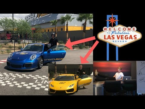 18 Year Old Entrepreneur Races Supercars In Las Vegas (+ Penthouse)